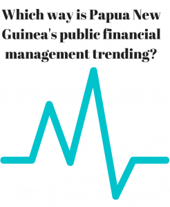 Which way is Papua New Guinea's public financial management trending-